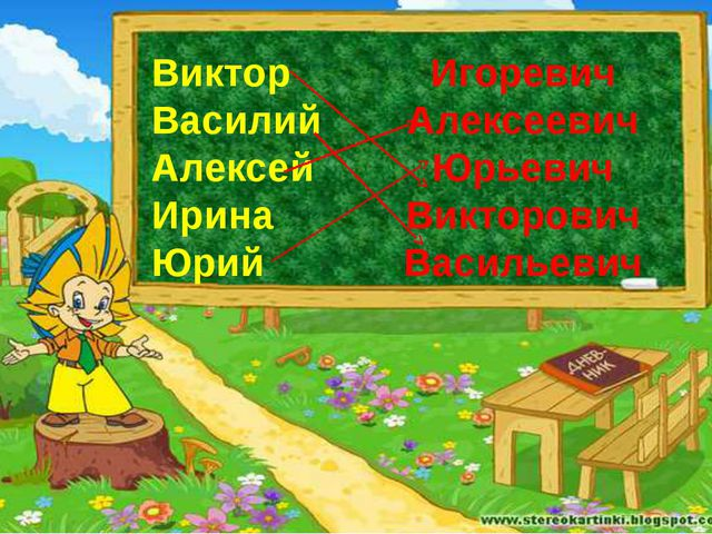 Виктор Василий Алексей Ирина Юрий Игоревич Алексеевич Юрьевич Викторович Васи...