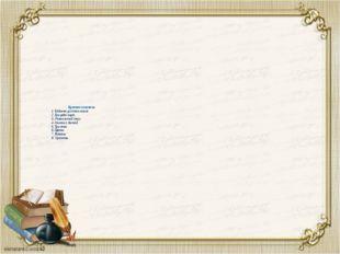 Краткое описание 1 Кабинет русского языка 2. Три ряда парт. 3. Учительский с