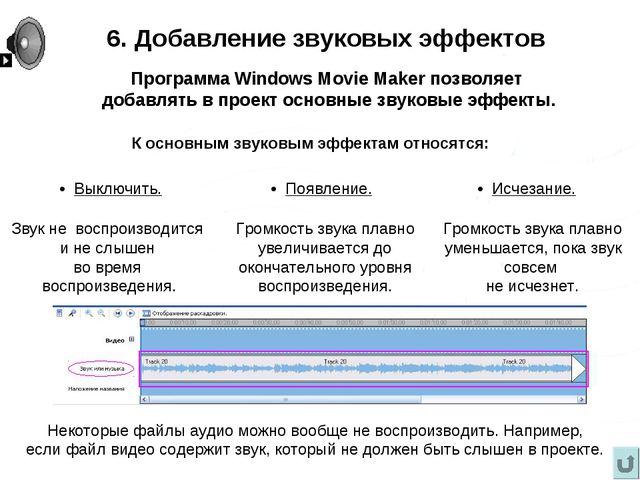 Некоторые файлы аудио можно вообще не воспроизводить. Например, если файл вид...