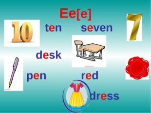 Ee[e] ten seven desk pen red dress