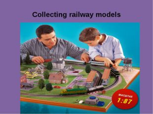 Collecting railway models