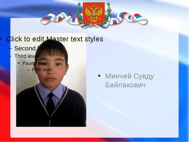 Минчей Сувду Байлакович