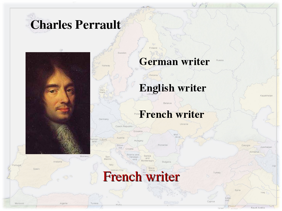 Charles Perrault German writer English writer French writer French writer