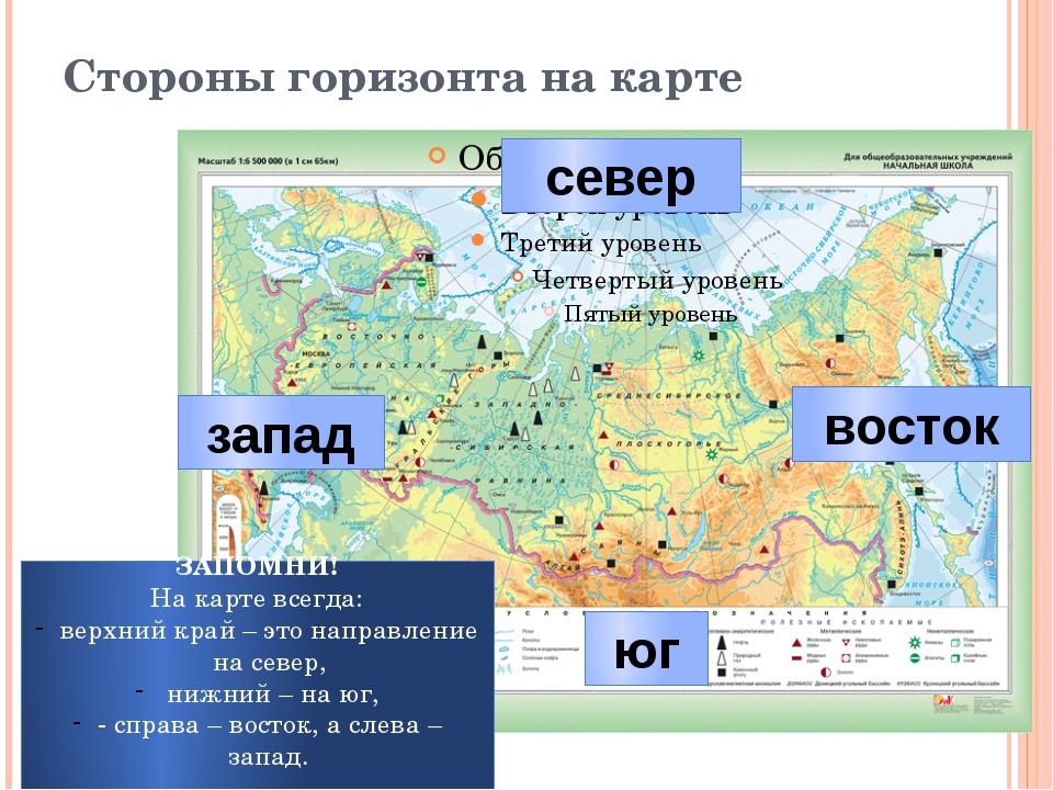 Как показывать на стенной карте