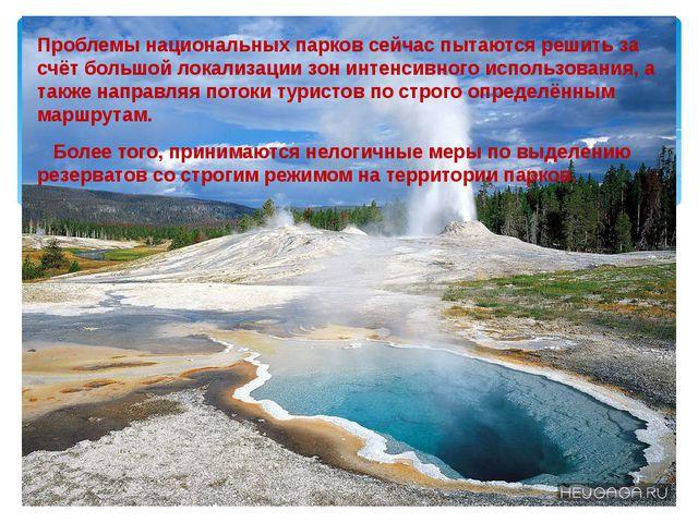 Проблемы национальных парков сейчас пытаются решить за счёт большой локализа...