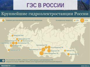 ГЭС В РОССИИ
