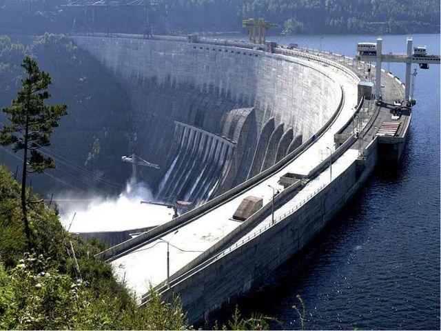 ГЭС В РОССИИ Самая мощная в стране электростанция - Саяно-Шушенская ГЭС – по...