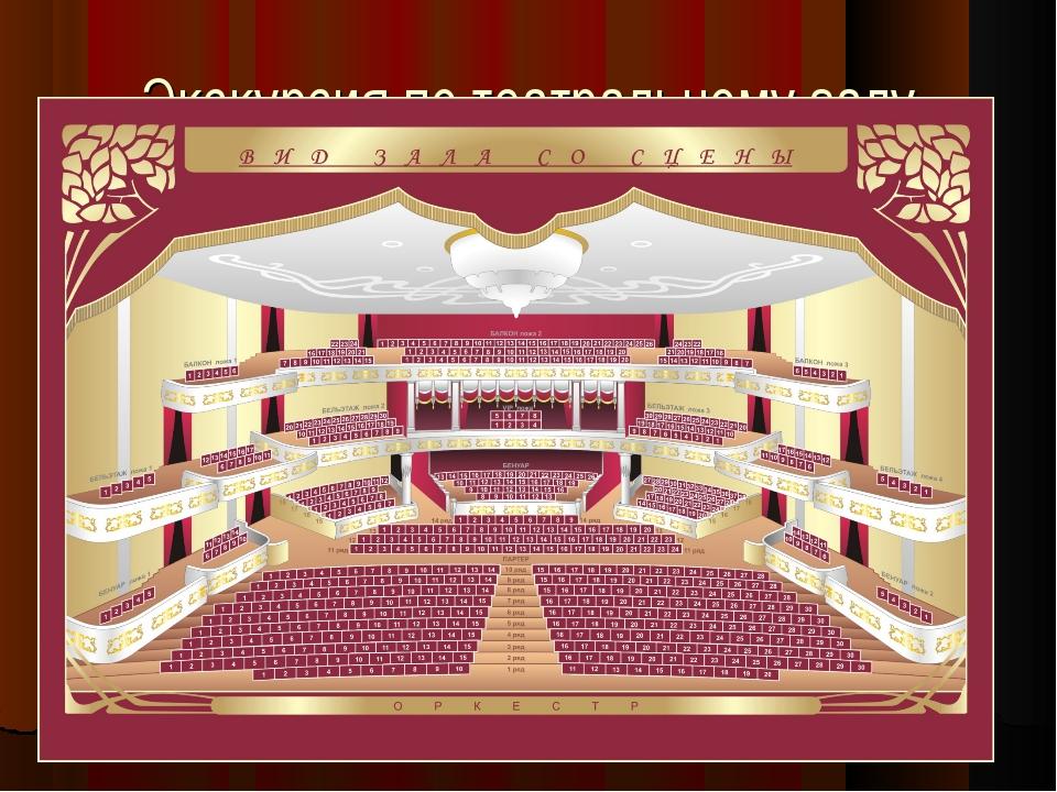 Экскурсия по театральному залу