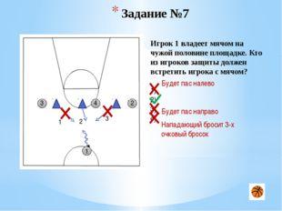 Задание №15 5 1 5 3 1 4 2 2 Игрок 1 владеет мячом на половине противника. Как