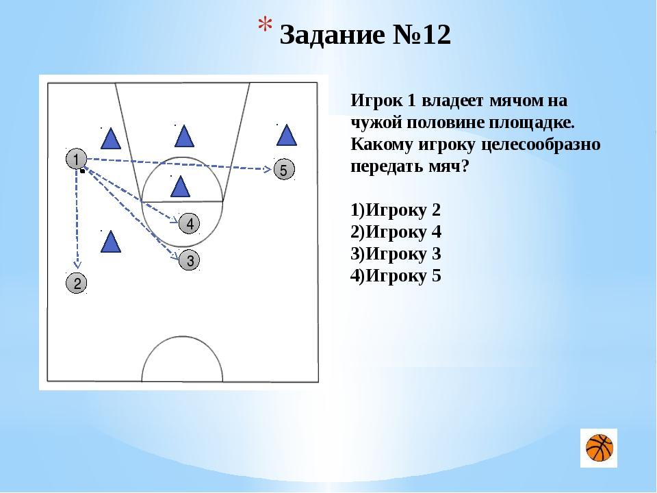 рис. 2. Упражнение 2. После ведения мяча (рис. 2) баскетболист делает два ша...