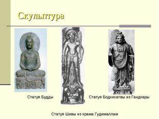 Скульптура Статуя Будды Статуя Бодхисатвы из Гандхары Статуя Шивы из храма Гу