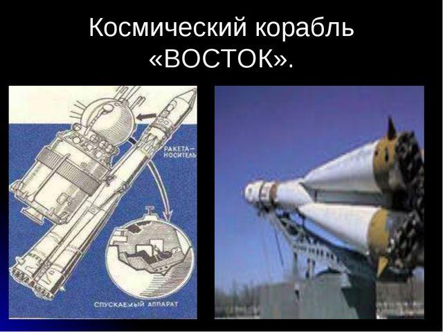 Космический корабль «ВОСТОК».