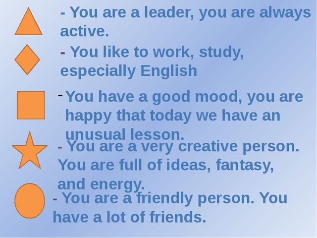 - You are a leader, you are always active. - You like to work, study, especi...