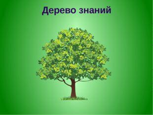 Дерево знаний