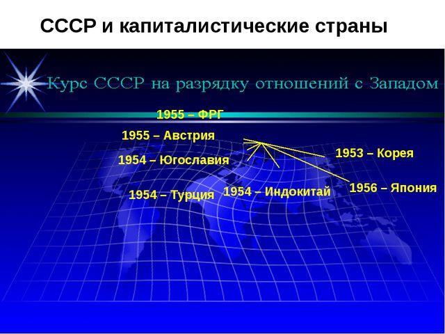1953 – Корея 1956 – Япония 1954 – Индокитай 1954 – Турция 1954 – Югославия 19...