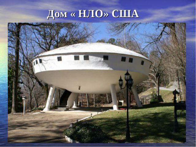 Дом « НЛО» США