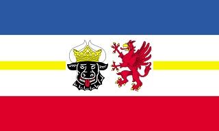 Флаг Мекленбург-Передняя Померания