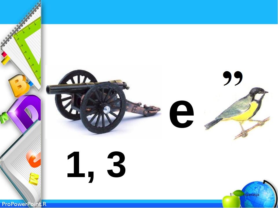1, 3 е пшеница ProPowerPoint.Ru