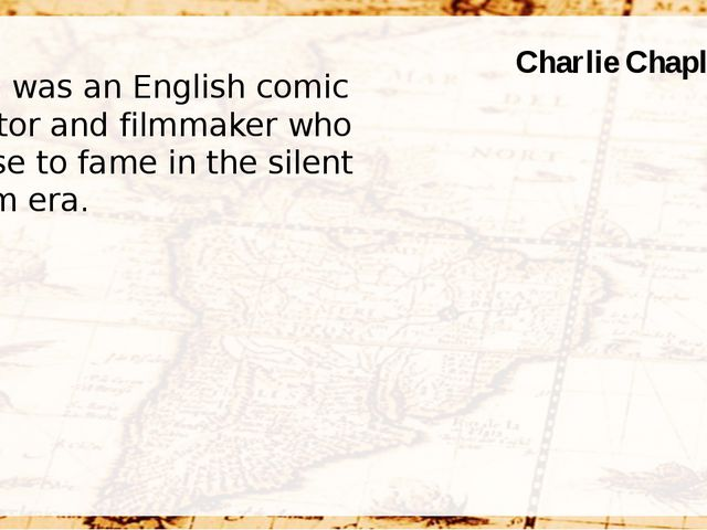 He was an English comic actor and filmmaker who rose to fame in the silent f...