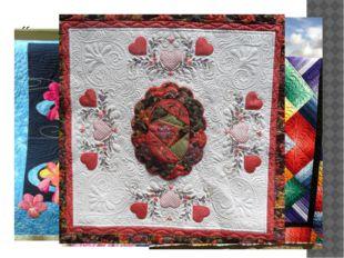 """""""квилт"""" - стёганное одеяло. Является разновидностью печворка и отличается от"""