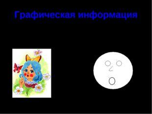Графическая информация Картинки (фотографии) схемы