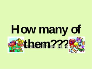 Numerals from 11 to 19 How many of them???