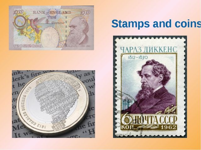 Stamps and coins