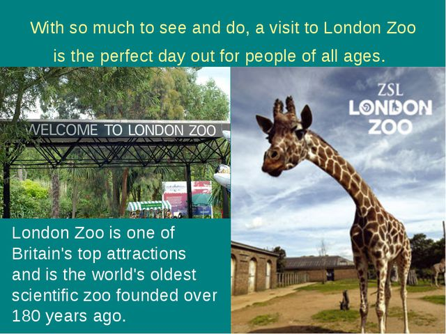 With so much to see and do, a visit to London Zoo is the perfect day out for...