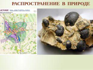 РАСПРОСТРАНЕНИЕ В ПРИРОДЕ  В природе фосфор встречается в виде сложных вещес