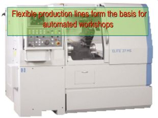 Flexible production lines form the basis for automated workshops