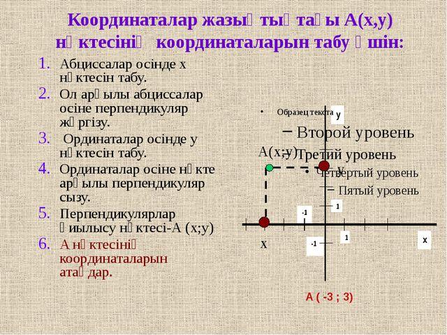 1 2 3 4 5 1 2 3 4 -1 -2 -3 -4 -1 -2 -3 -4 -5 B(-3;4) A(4;3) D(0;3) F(5;-4) C...