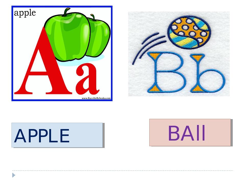 APPLE BAll