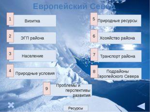 Экономическое окружение: моря, страны, соседние районы Моря Страны Районы 1.