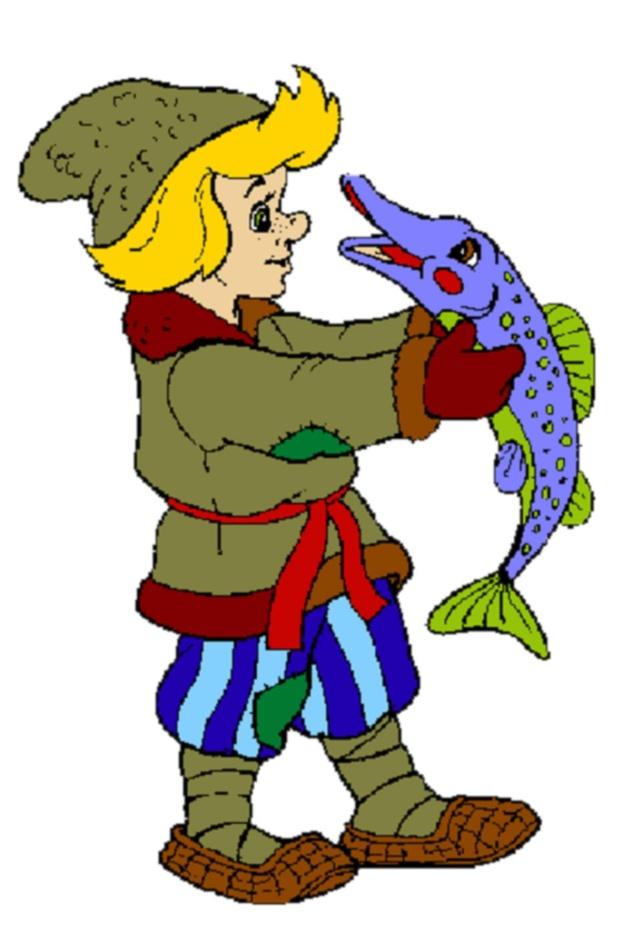 Детские рисунки с героями из сказок