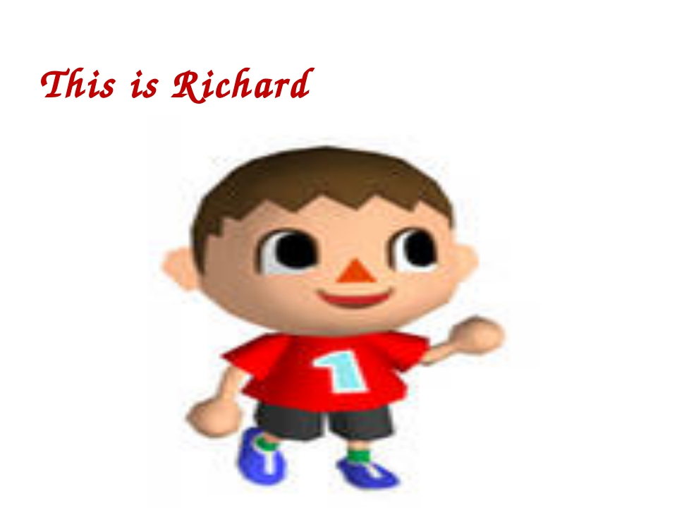 This is Richard