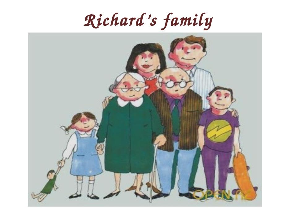 Richard's family