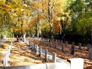 Братская могила № 3 на территории Коминтерновского кладбища