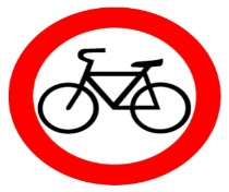 dvizhenie na velosipedah zaprecheno