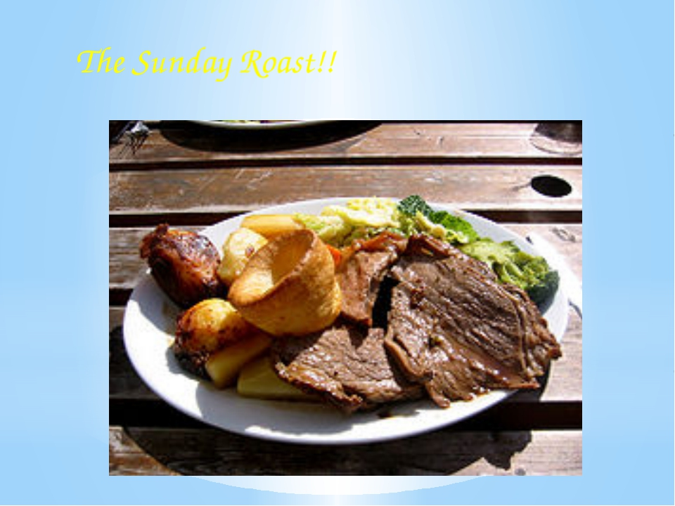 The Sunday Roast!!