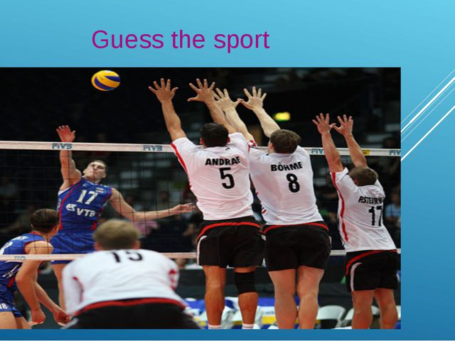 Guess the sport