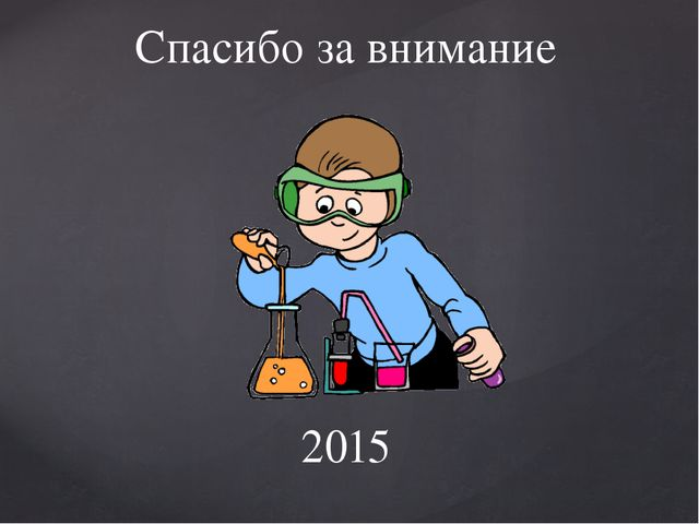 Спасибо за внимание 2015