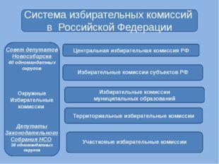 Система избирательных комиссий в Российской Федерации Центральная избиратель