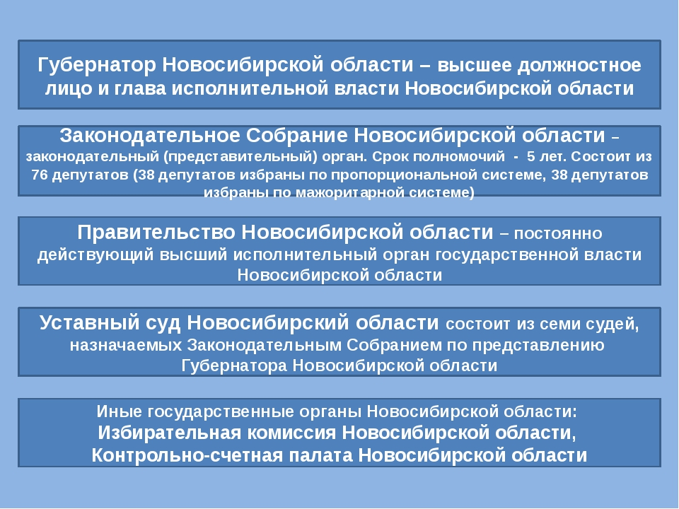 Губернатор Новосибирской области – высшее должностное лицо и глава исполнител...