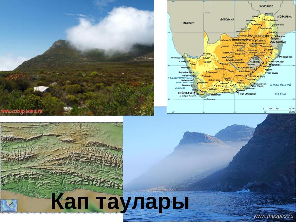 Кап таулары