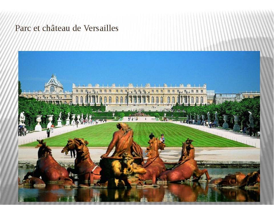 Parc etchâteaude Versailles