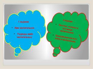 2 задание Простые, сложные и составные числительные. Правописание мягкого зн