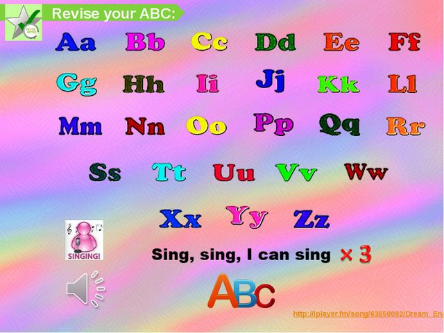Revise your ABC: http://iplayer.fm/song/63650092/Dream_English_-_Traditional_...