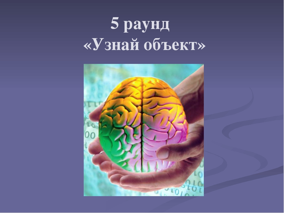 5 раунд «Узнай объект»