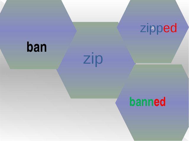 zip Gg zipped ban banned