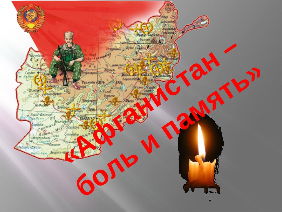 «Афганистан – боль и память»